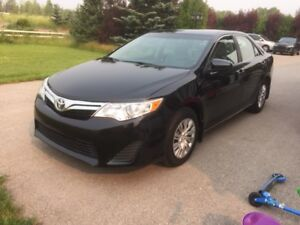 2012 Toyota Camry Le, Low km , quick sale !!