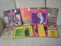 12 inch vinyl albums 50's/60's
