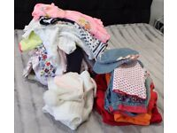 Baby Girl Clothes 3-6 Months 60 Pieces Clothing Bundle