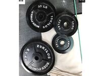 BodyPower 145kg olympic weights Set