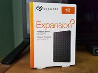 NEW Seagate 1Tb Portable HD
