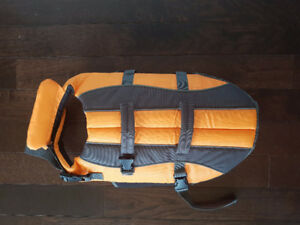 Small to Medium size Dog Lifejacket with head support