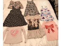Girls bundle of H&M clothes 6-8