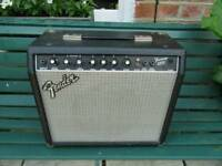 Fender 25watt combo, aux in, phones/line out, gr8 reverb.