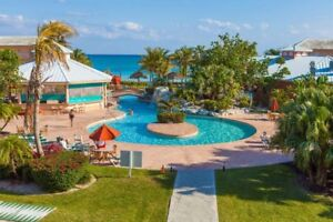 2 bedroom Condo with full kitchen ocean front Freeport Bahamas!