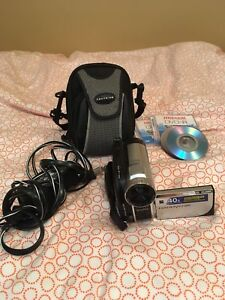 Sony video camera/camcorder set
