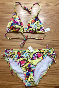 Women's 2 Pc Butterfly Bikini, Brand New With Tags - St. Thomas