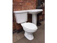 2 piece bathroom suite - Toilet and Basin
