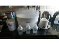 Tommee tippee Steam steriliser bundle