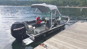 2013 Lund Impact 1675 with 90HP ELPT 4 stroke