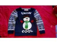 Snowman Christmas jumper