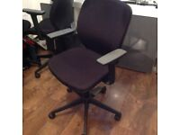 Orange box office chair excellent condition more than 1 available