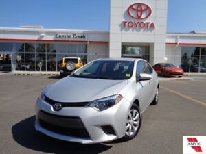 2015 Toyota Corolla LE ONE OWNER ONLY 9,300KMS!