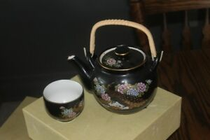 Japanese Tea set with 6 cups and teapot