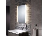 Sensio Vermont diffused LED bathroom mirror - brand new