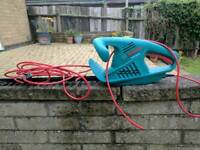 Bosch hedge trimmer. Wire has been cut