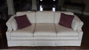 SOFA  AND  LOVE SEAT  -  2 pieces
