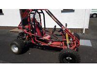 250cc petrol buggy go kart quad