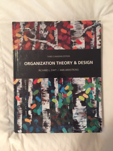 **BRAND NEW** Org. theory and design 3rd edition