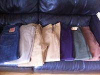 Bundle of mens jeans,cods etc