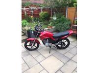 Lexmoto ZSF 125cc Motorcycle