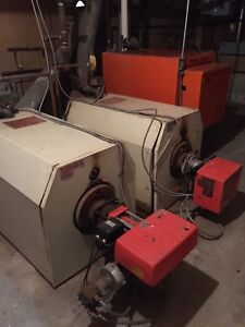 For Sale: 2 Oil Fired Boilers