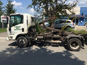 2008 Chevrolet W5500 HD HOOKLIFT plus 1 BIN
