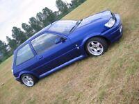 Steffan deep dish alloy wheels, slammed stance euro look, 4x108, Ford Fiesta