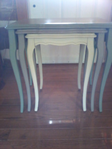 Set of Antique Nesting Tables