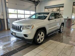 2011 Jeep Grand Cherokee Limited  - Backup cam - New windshield