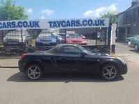 TAYCARS GENUINE SALE!! TOYOTA MR2 1.8 VVTI!! 1 YEARS MOT NOW ONLY £1395