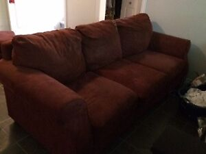 Couch, Two Chairs & Ottoman
