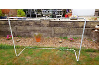 KIDS FOOTBALL GOAL WITH NET. EASY TO DISMANTLE.