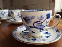 Royal Grafton, 22 piece Dynasty fine bone china tea set.