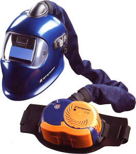 Brand new in the box Sperian welding helmet and OS100