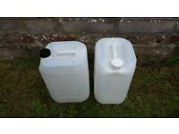 Water container can carrier 20 litre plastic canister