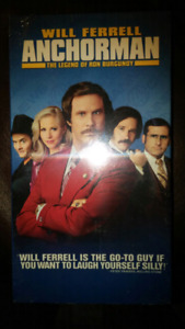 Anchorman new mint condition never opened VHS tape for VCR