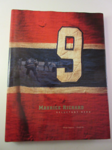 Maurice Richard Reluctant Hero book Montreal Canadiens