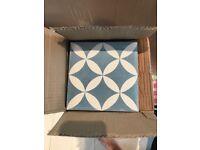 Brand new Morroccan floor tiles