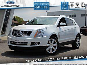 2013 Cadillac SRX **PREMIUM*AWD*CUIR* TOIT*NAVI*CAMERA*A/C