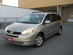 2004 Toyota Sienna, LE, 7 Pass, mint, 3 Years warranty available