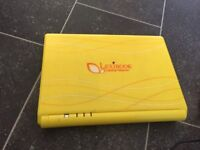 Childrens lexibook laptop with preloaded games. Good condition