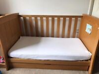 Aspace cot bed for sale, excellent condition