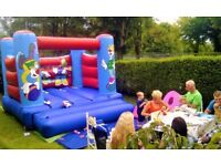 Clown Bouncy Castle for sale with blower and 2 front mats - VERY GOOD EXAMPLE
