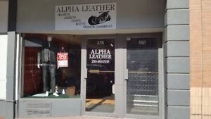 STORE CLOSING SALE AT ALPHA LEATHER, UP TO 70% OFF