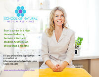 Get Trained from School of Natural Medical Aesthetics