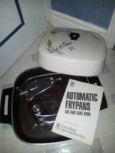 GE Electric Non-Stick Flying Pan/Skillet, Brand New. Very nice!