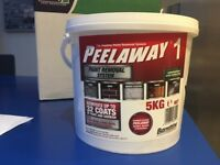 Peelaway paint removal system