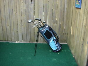 Ladies RH King Cobra golf set & Ladies RH Adams golf set