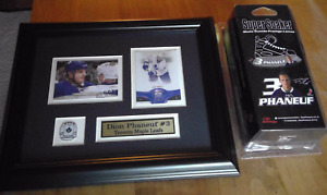 DION PHANEUF - Toronto Maple Leaf #3 memorabilia